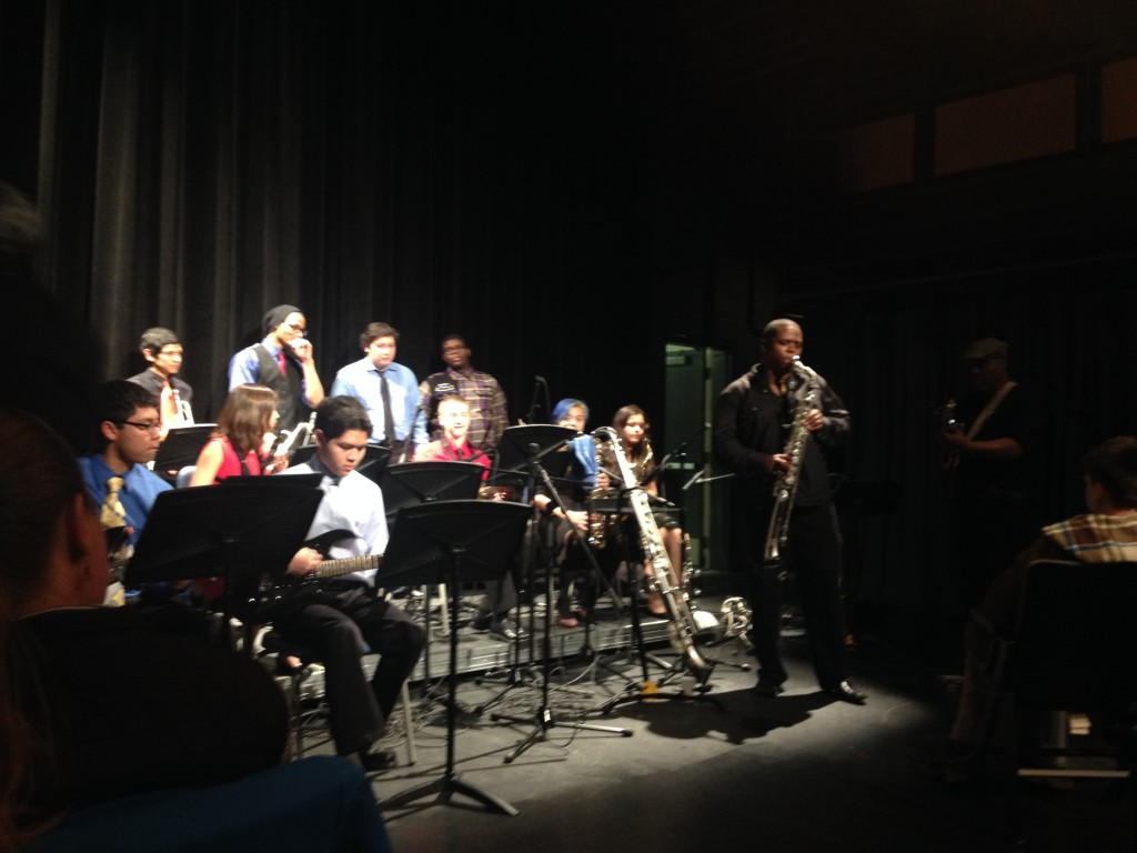 Jazz Band performing with Brian Lenair at the Jazz Cafe
